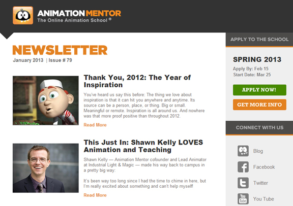 Newsletter Jan2013 Year End Newsletter Recaps Shawn Kelly, Webinar, Workshops, and a Whole Lot of Inspiration