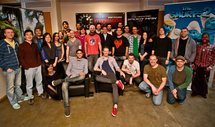 Sony AMers Living the animation dream at Sony Vancouver
