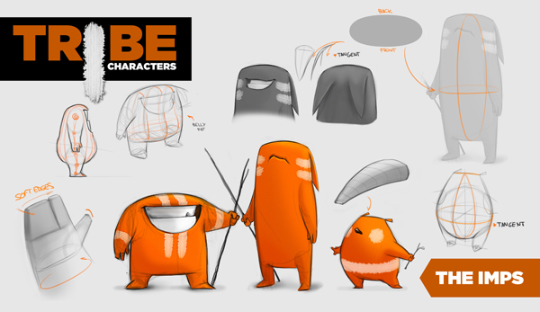 AnimationMentor Imps Rigs Say hello to our newest character rigs: The Imps