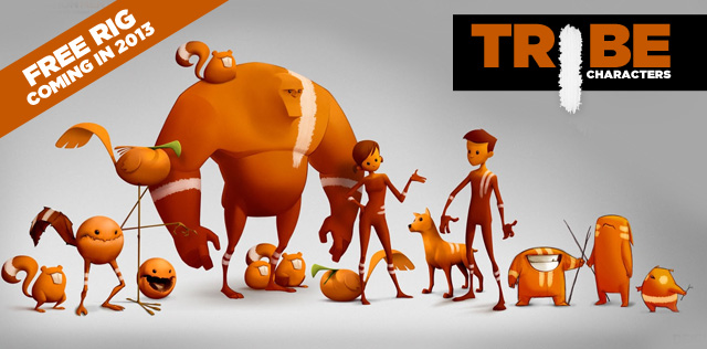 Tribes Blog freerigs We heard you: Free character rig on the way