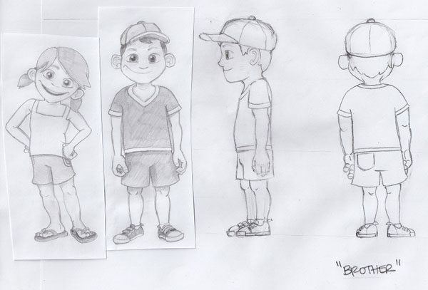 4 CharacterSheet How To Animate A Short Film Sequence