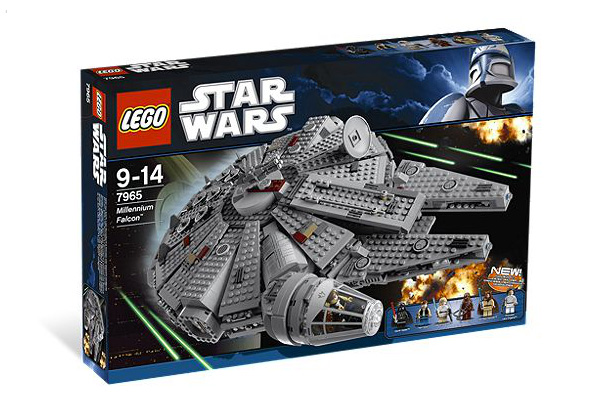 03 LegoMillenniumFalcon 11 gifts to buy your CG Artist