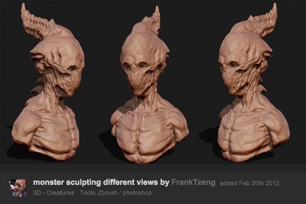 monster sculpt VFX or Not Reveal   #BreakingBad