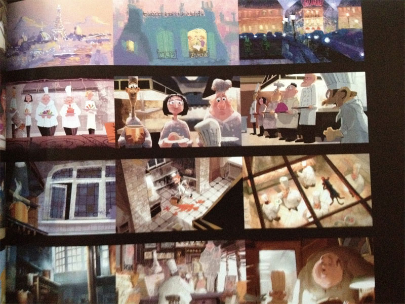Pixar Ratatouille ColorScript Lighting and Color in Animation Films