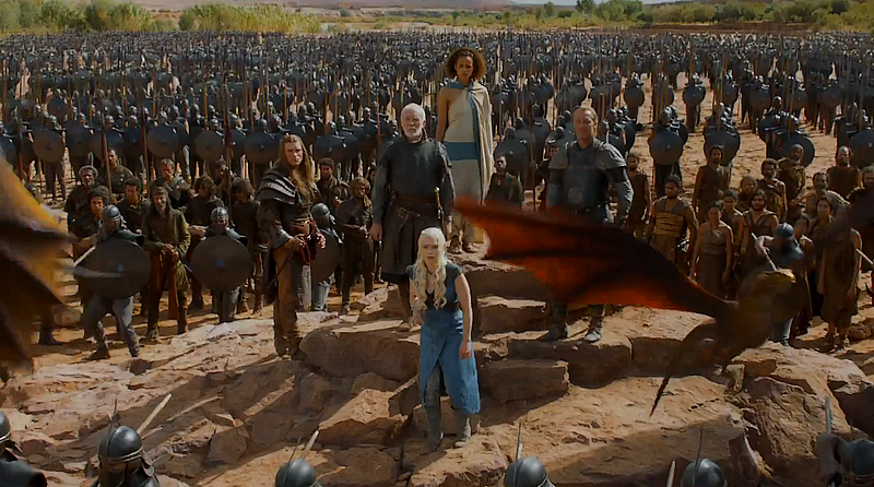 GameOfThrones Unsullied The Wall, White Walkers and Westeros: HBO's Game of Thrones