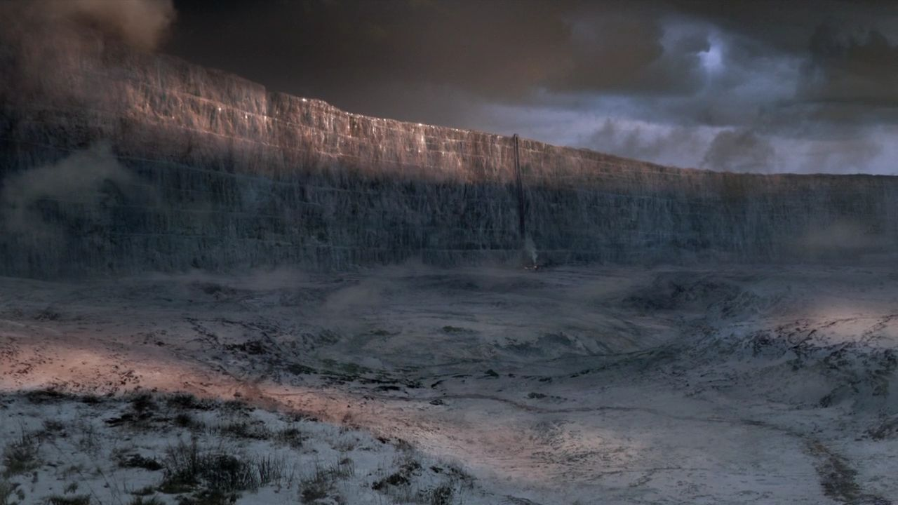 GameOfThrones Wall The Wall, White Walkers and Westeros: HBO's Game of Thrones