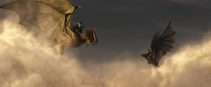 howtotrainyourdragon2 toothless flight2 Animating Toothless: Insider Tips from How To Train Your Dragon 2