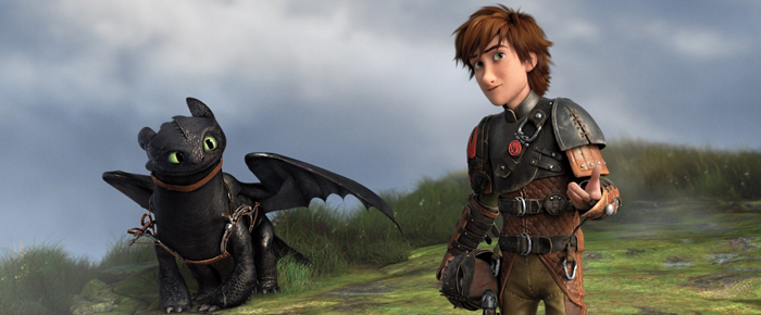 howtotrainyourdragon2 toothless hiccup Animating Toothless: Insider Tips from How To Train Your Dragon 2