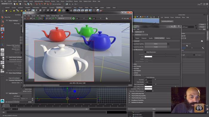 AaronEstrada Lighting Maya onDemand 10 Tips for Animators: Autodesk Maya Walk through Tutorials