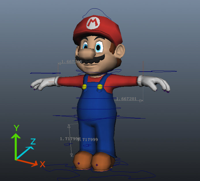 example x y z mario bros 8 Things Maya Noobs Must Know