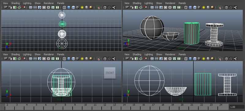 maya camera views 8 Things Maya Noobs Must Know