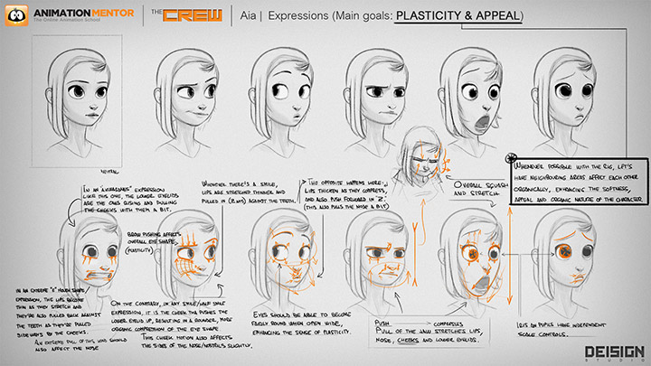 aia animation appeal concept Meet Animation Mentor's New Studio Quality Character Rigs, Aia and Hatch!
