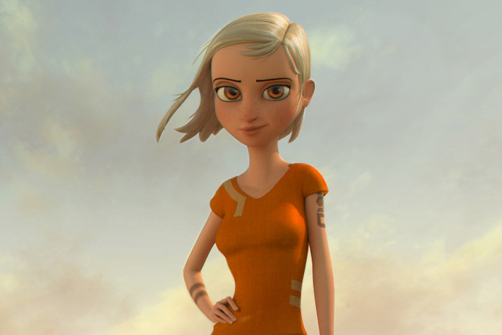 aia solo animation Meet Animation Mentor's New Studio Quality Character Rigs, Aia and Hatch!