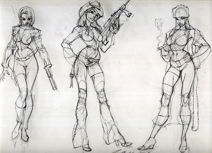 t Scott Campbell Sketches