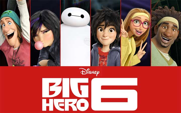 big hero 6 poster Zach Parrish: From Animation Mentor to Head of Animation for Disneys Big Hero 6