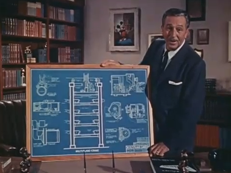Walt Disney MultiPlane Camera