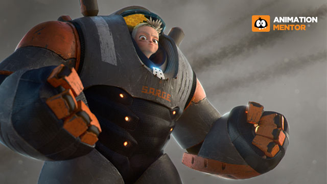Animation Mentor Crew Sarge Rig