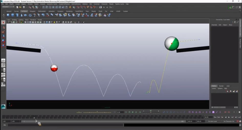 blog am arc tracker weighted balls 3 Reasons Why Every Animator Should Master the Bouncing Ball with Ray Chase