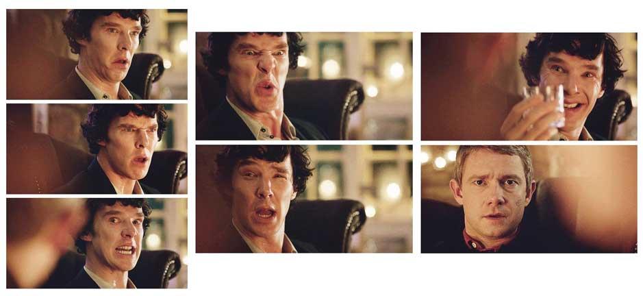 benedictcumberbatch Sherlock facialexpressions Facial Animation 101
