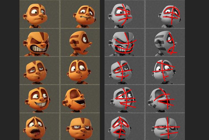 facialexpressions contraposto Facial Animation 101