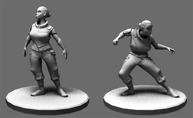Photo 6 moya enforcer model Introducing Viktor and Moya, Two New Animation Mentor Character Rigs