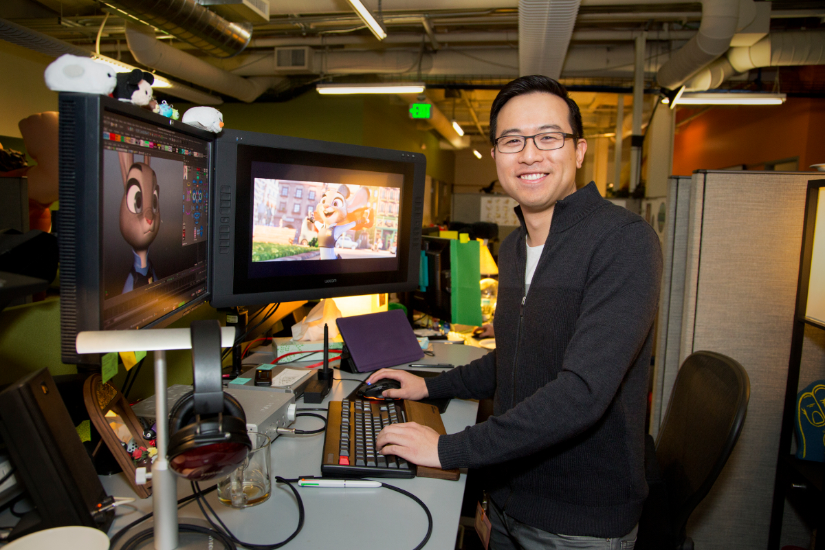Philip To OR5C5284 R small OSCAR WATCH: How Zootopia Animator Philip To Went from Animation Mentor to Disney