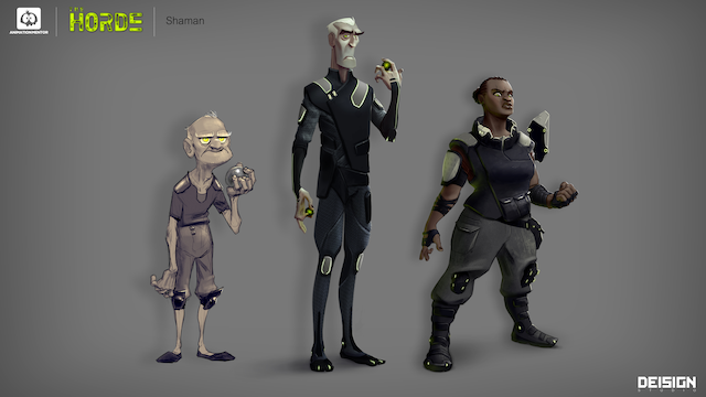 Horde Group Introducing the Shaman, A Mystical Animation Mentor Character Rig