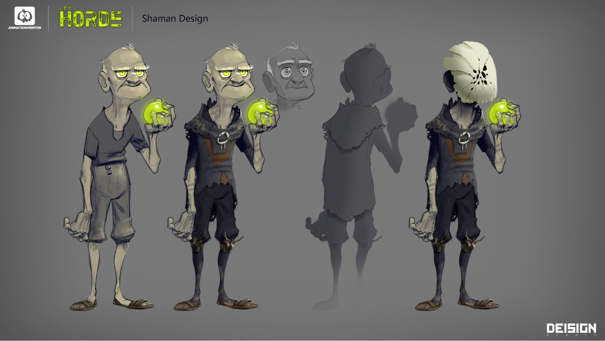 shaman character design final Introducing the Shaman, A Mystical Animation Mentor Character Rig