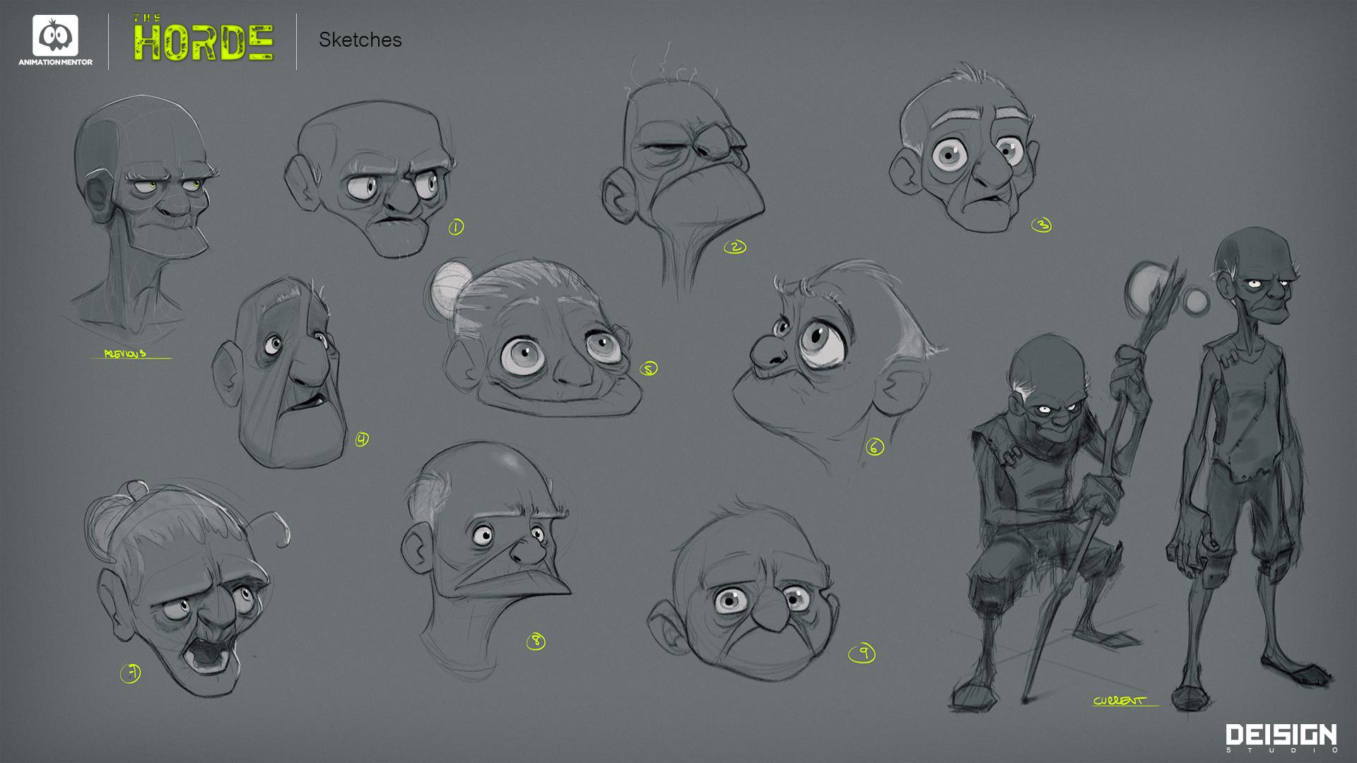 Facial Design Shaman Character Rig