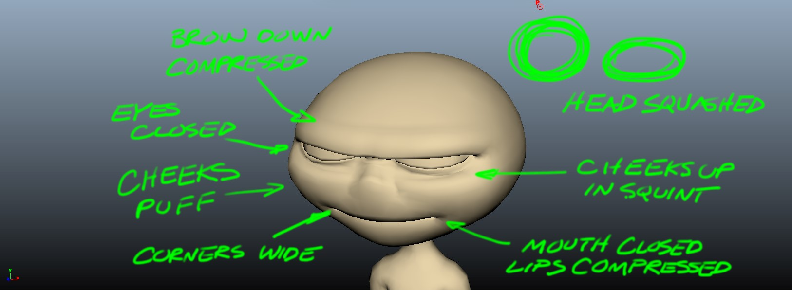 Image 5 Squash Pose Squash and Stretch: The 12 Basic Principles of Animation