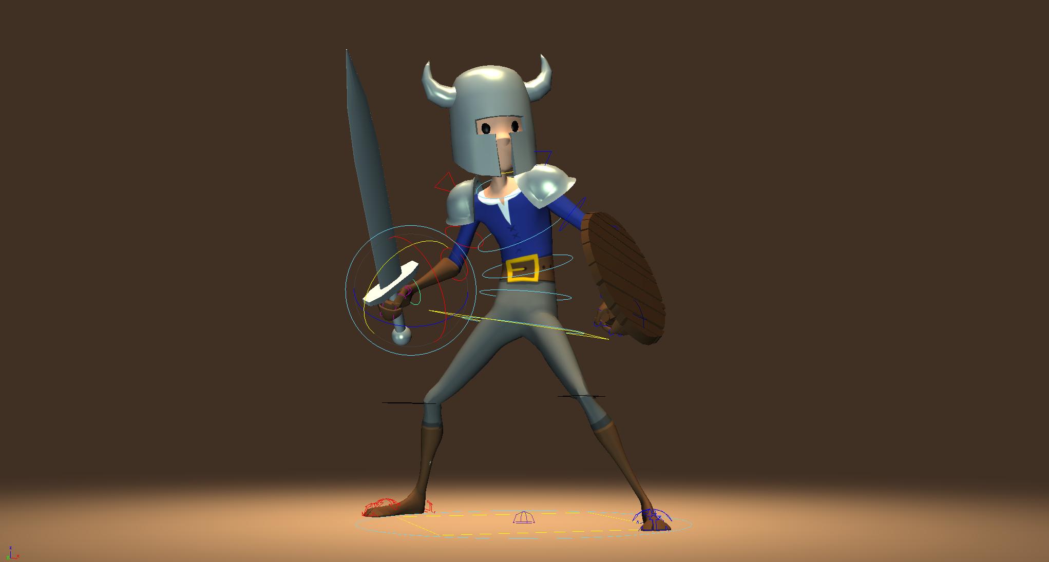 Warrior Standing