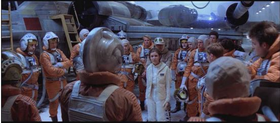 Leia and Pilots