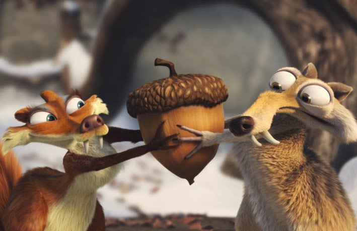 Ice Age Squirrels