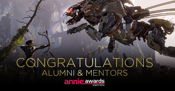 banner 45annieawards 2017 10 Animation Mentor Alumni and Mentors Nominated for Annie Awards!