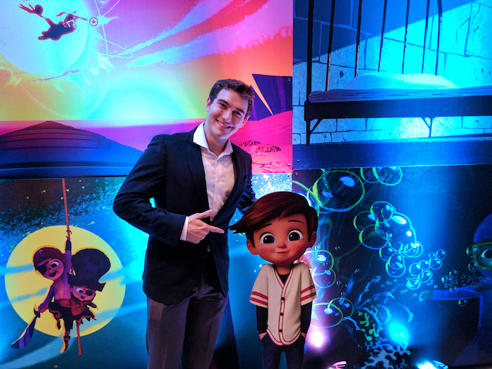 bossbaby wrapparty From School to Studio: Sir Wade Neistadt's Journey to DreamWorks Animation