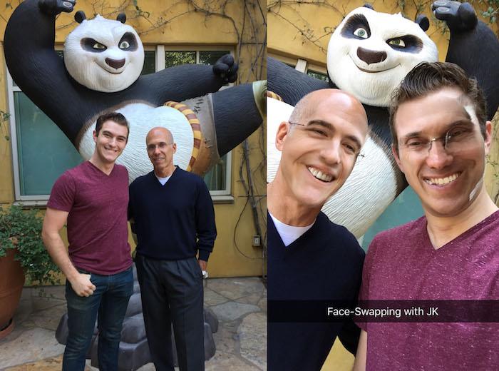 jk faceswap 1 From School to Studio: Sir Wade Neistadt's Journey to DreamWorks Animation