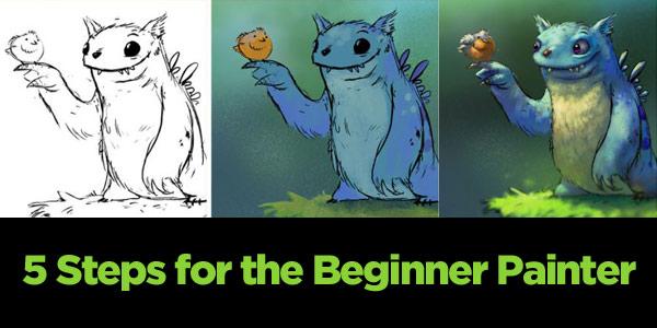 5StepsBeginnerPainter 5 Steps for the Beginner Painter: How to Get Started