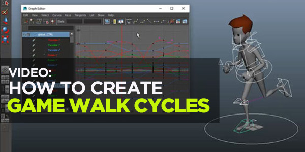 Blog Post Template 600300 Video: How to Create Walk Cycles for Video Games