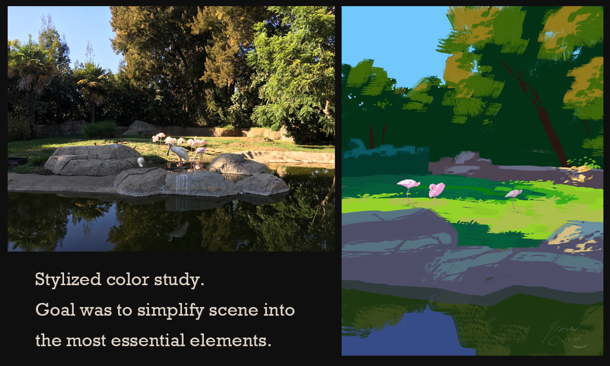 Stylized Color Study Image 2 5 Steps for the Beginner Painter: How to Get Started