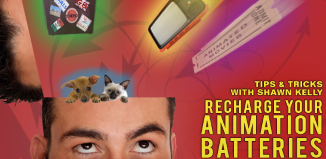 Recharge Animation Batteries Recharge Your Animation Batteries