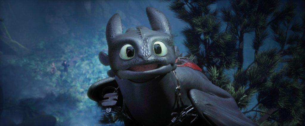 Toothless in How to Train Your Dragon: The Hidden World