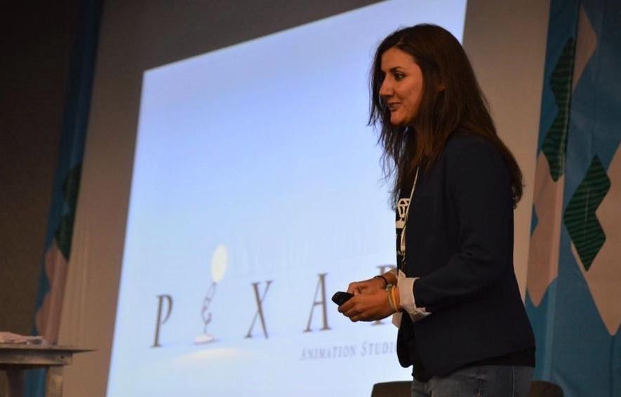 Carolina Lopez Dau at Pixar