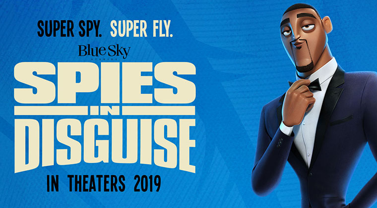 Blue Sky Studios' newest film Spies in Disguise