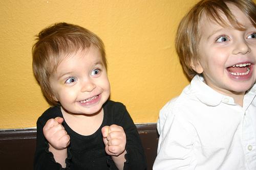 Happy kids by Phil Scolville