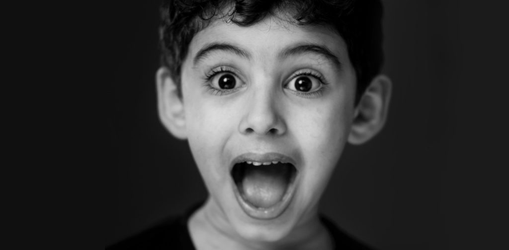 Surprised Child via Mohamed Abdelgaffar