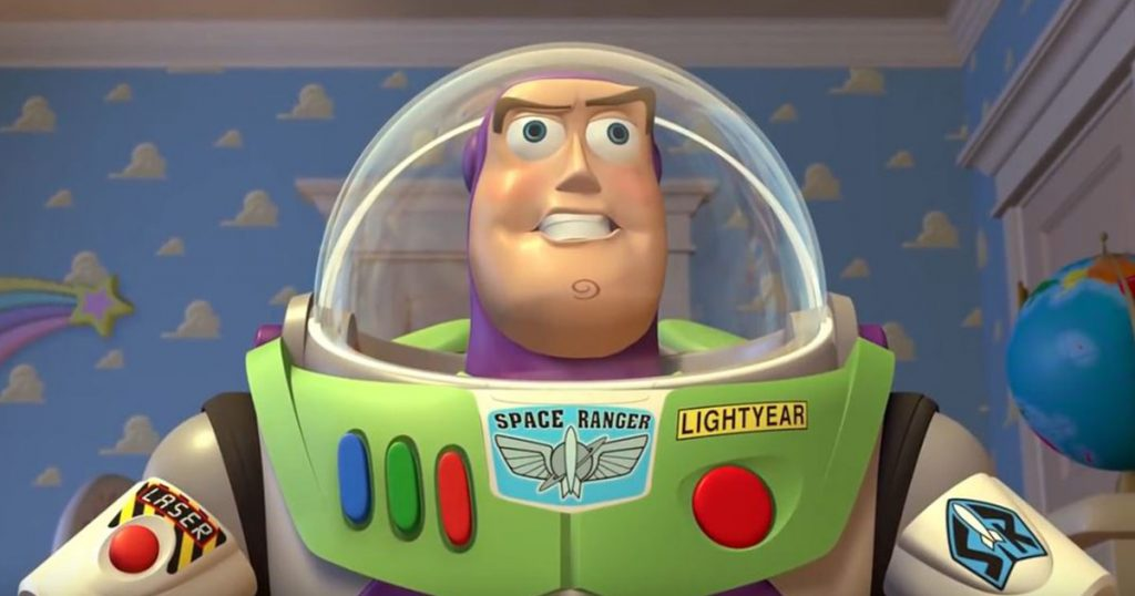 Buzz Lightyear's Introduction in Toy Story