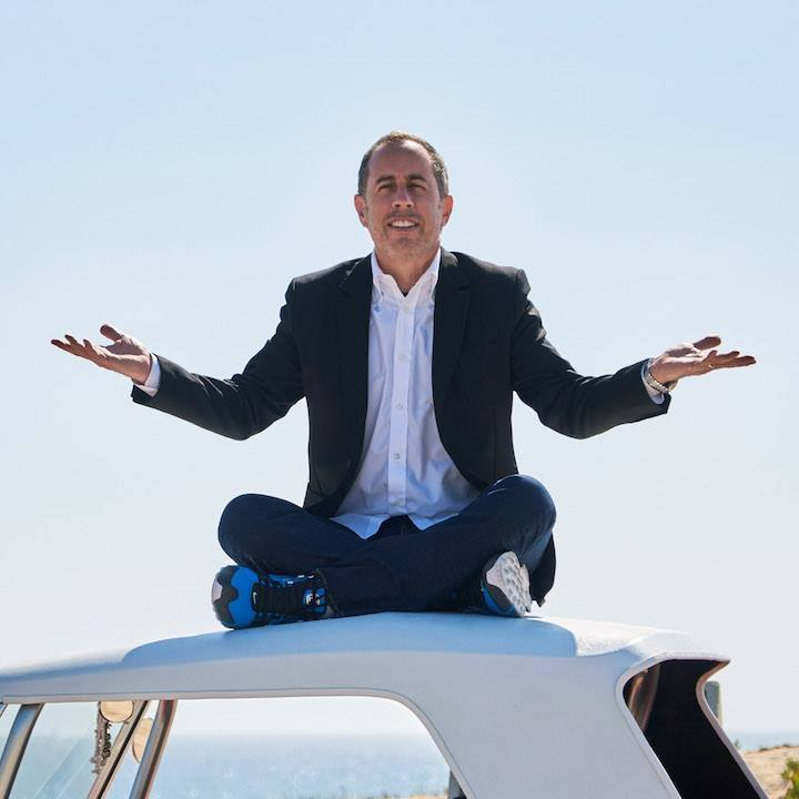 Jerry Seinfeld's Iconic Gesture, via his Twitter