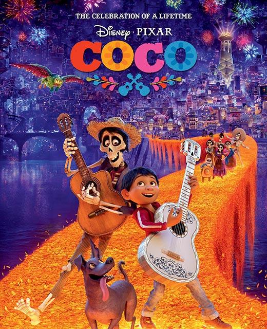 La película Coco, Pixar