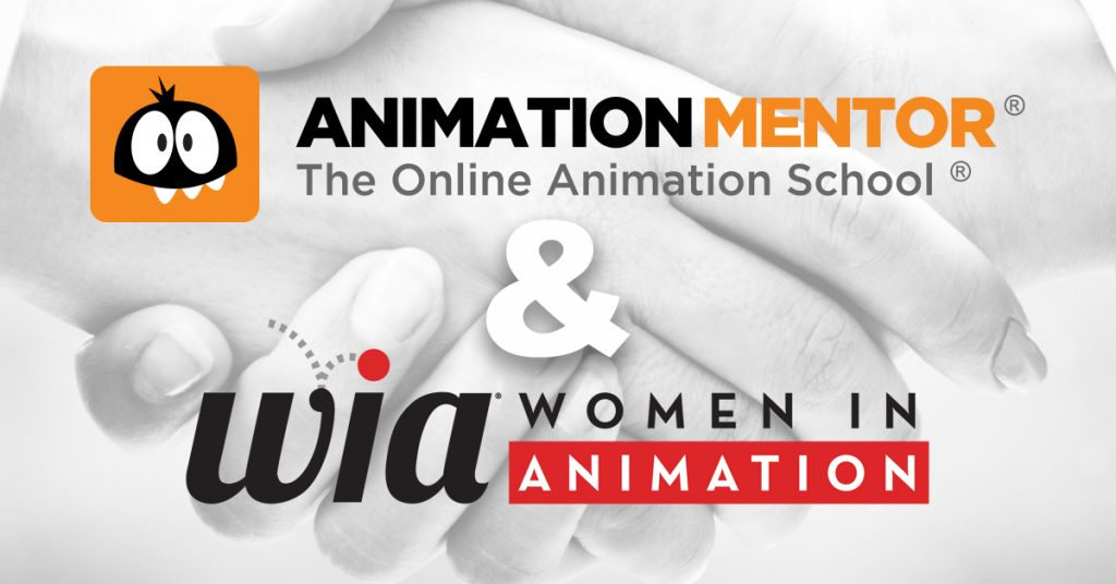 Animation Mentor & Women in Animation announce new partnership