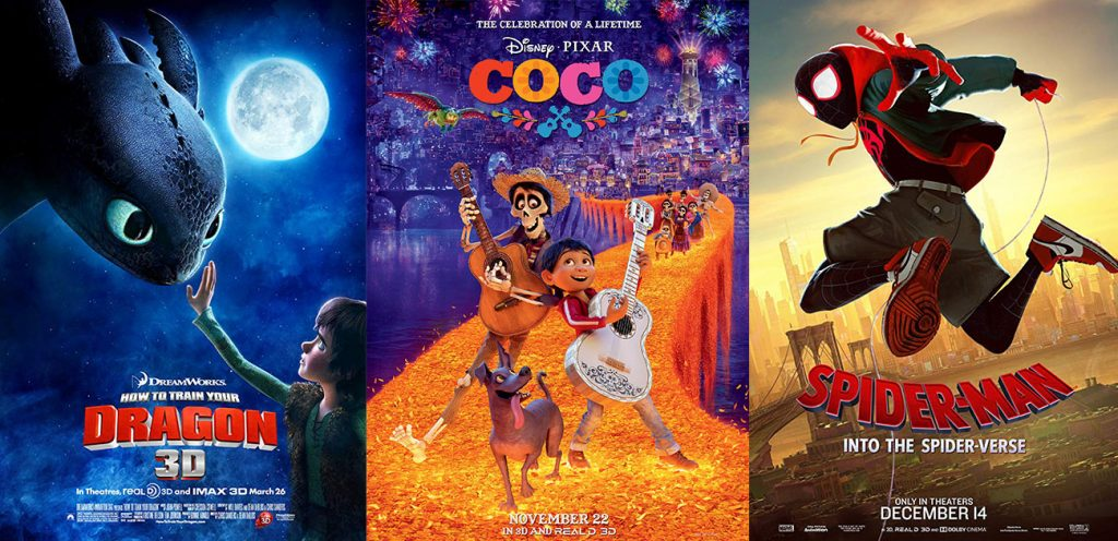 Animation Mentor's Best Movies of the 2010s